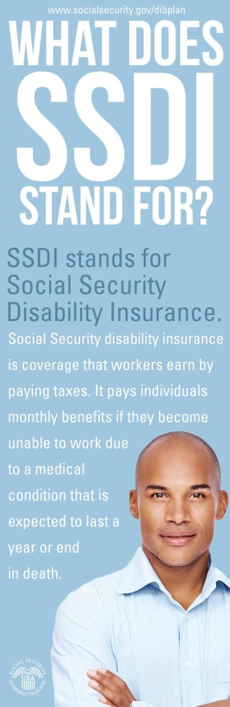 What Does SSDI Stand For