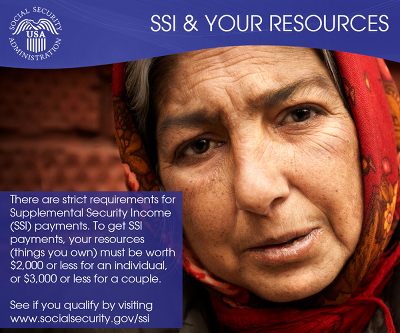 SSI Income and Assets