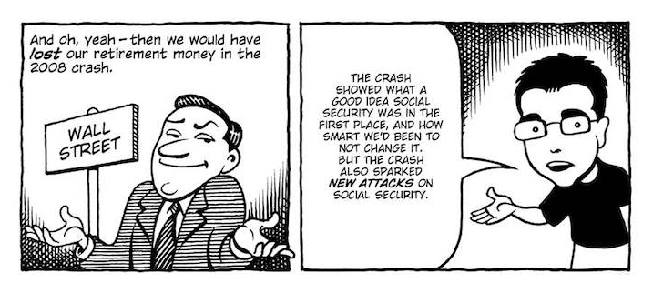 Social Security Explained Through Comics Law Office Of